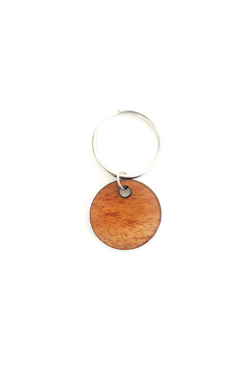 Circle Koa Collar Charm