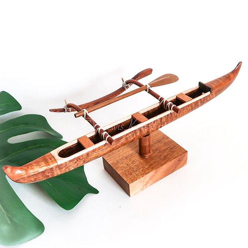 Koa Racing Canoe