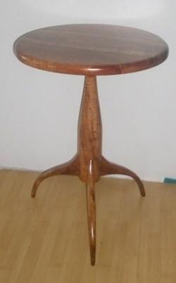 Shaker small koa table