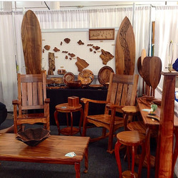 Selection of Koa furniture