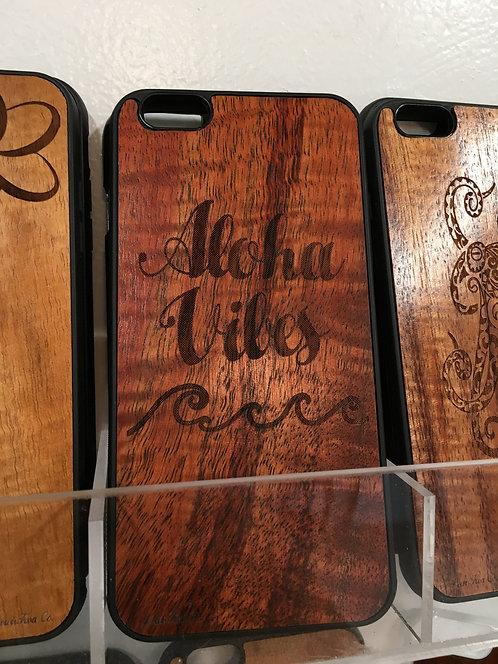 Koa Iphone Case, Aloha Vibes