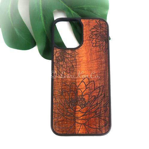 Lotus Koa iPhone Case