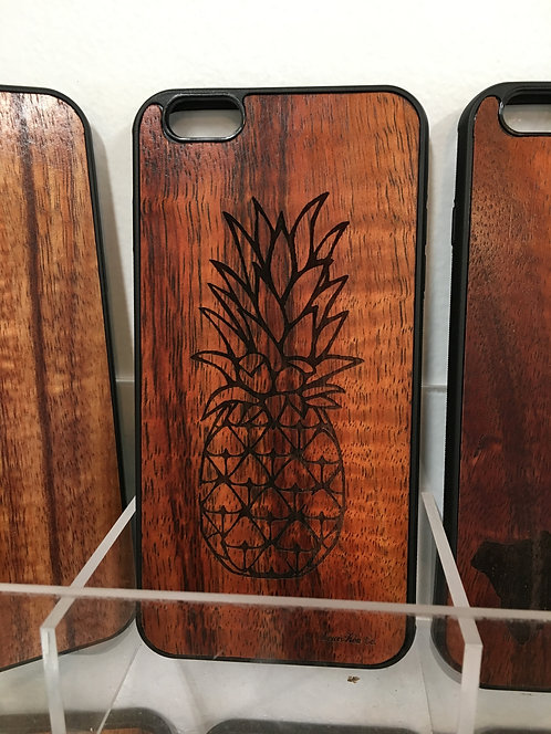 Koa Iphone Case, Pineapple