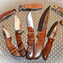 Koa knives set