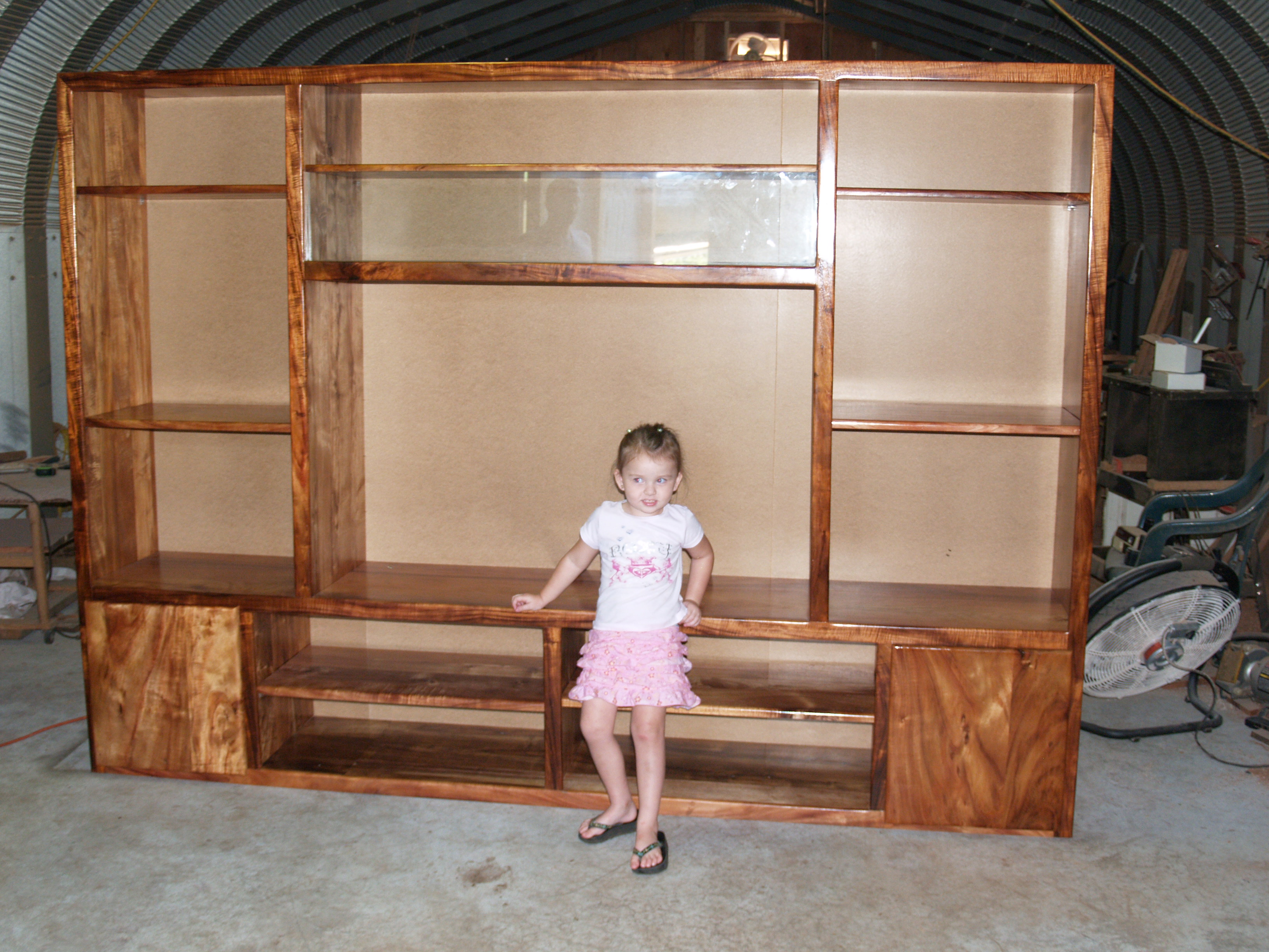 Koa large custom furniture