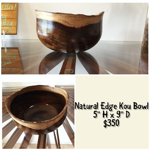 Kou Natural Edge Bowl (KOU1)