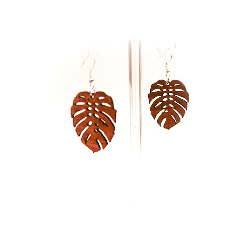 Monstera Koa Earring (MEar2)