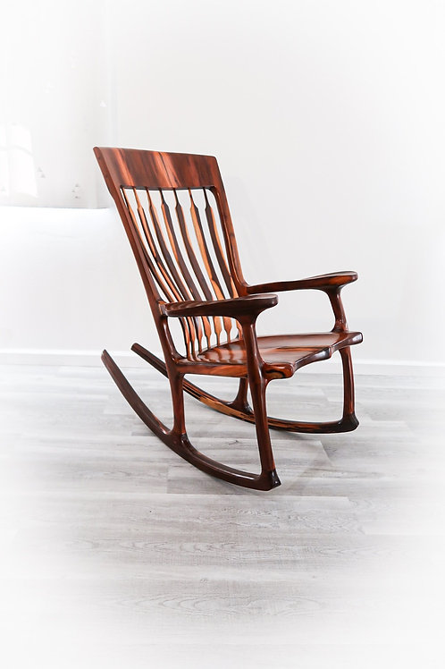 Milo wood Maloof Rocking Chair