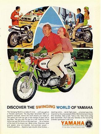 yamaha250 scrambler