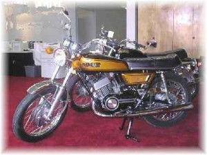 yamah yds7 classic motorcycle