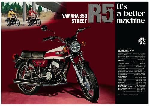 yamaha r5 350