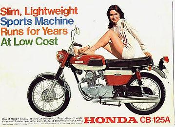 honda cb125 motorcycle