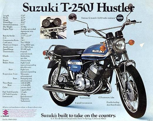 suzuki T250J hustler