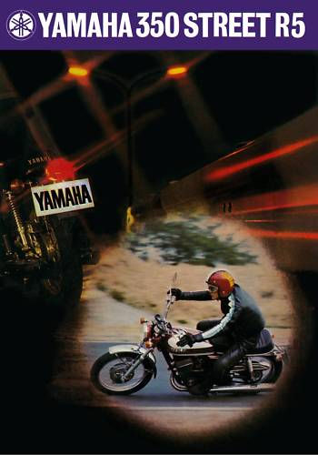 yamah yr5 350cc classic bike