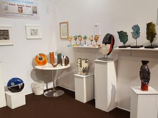 Mon expo dans le salon ARTSHOPPING a Cannes Mandelieu en Décembre 2017
