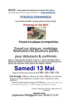 Stages de céramique au Cannet