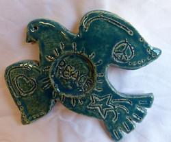 colombe de la paix 12 cm : 15€