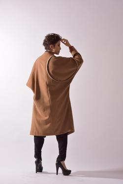 """""""Arc"""" Kimono-sleeve Coat Ver.2"""