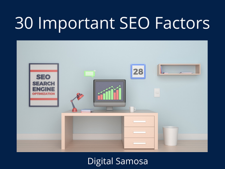30 Most Important Google Ranking Factors for SEO