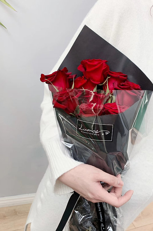 wrap roses