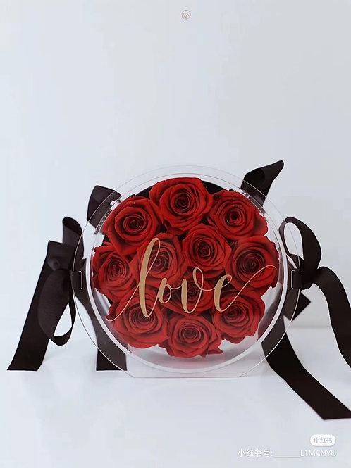 Preserved Rose Bag