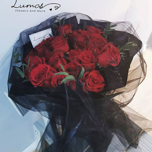 Roses Chiffon Bouquet