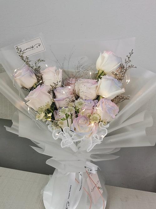 Mermaid Color Rose Bouquet