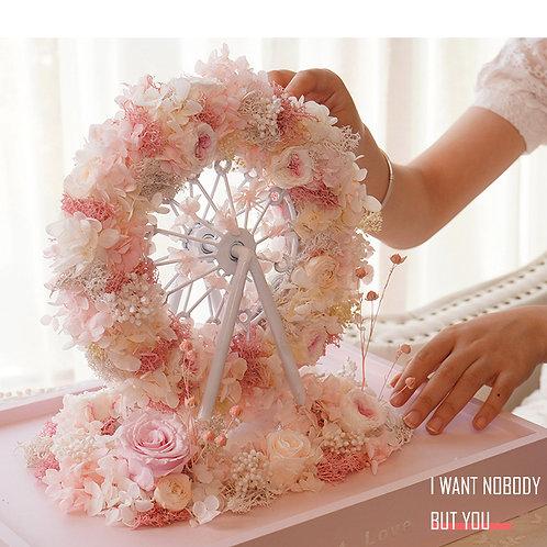 Sky Wheel Preserved Flower Box