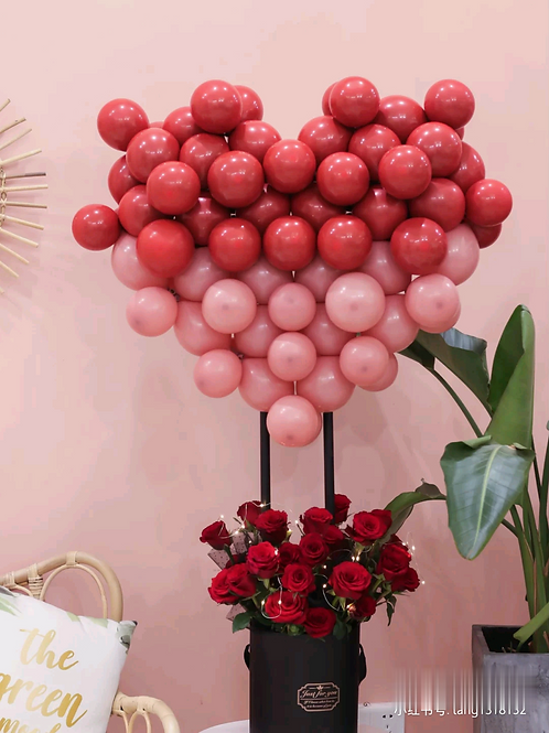 Hot Air Balloon Flower Box
