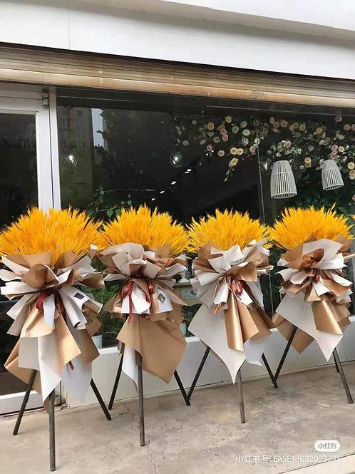 Golden Barley Standing Bouquet