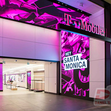 T-Mobile at Santa Monica