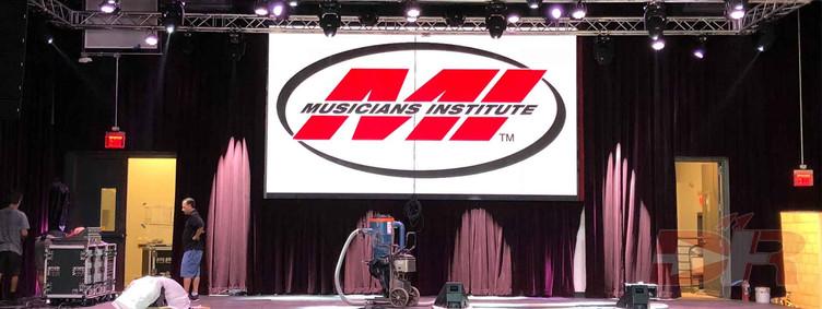 Musicians Institute LED display configuration