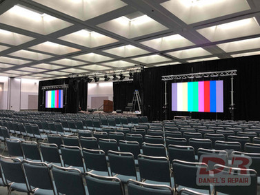 Convention LED tech support,Los Angeles,CA