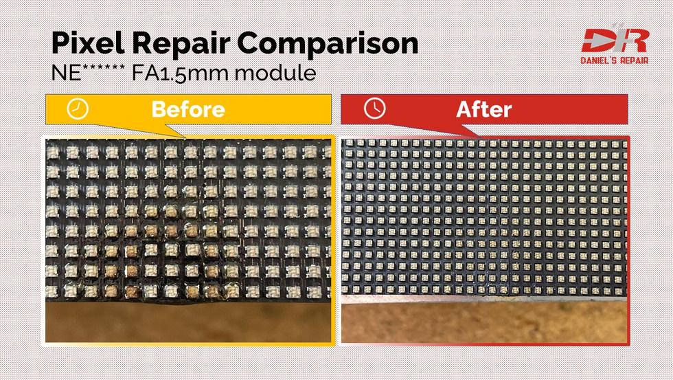 NEC module repair