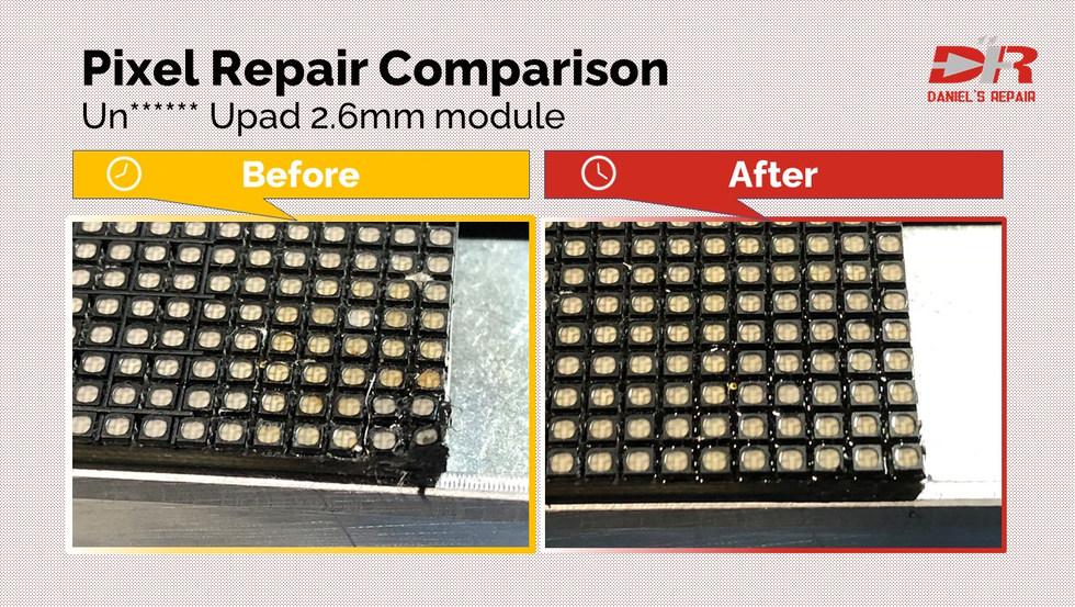 Unilumin Upad2.6mm pixel repair