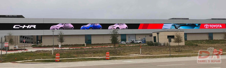 Toyota P16 LED display repair,Plano,TX