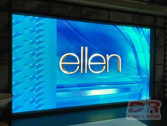 Ellen show background LED repair
