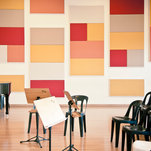 Orchestra and choirs rehearsal rooms