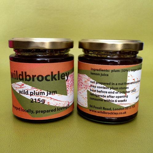 Wild plum jam