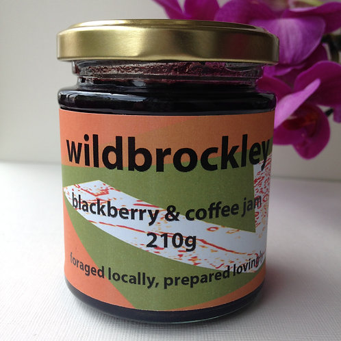 Blackberry & coffee jam