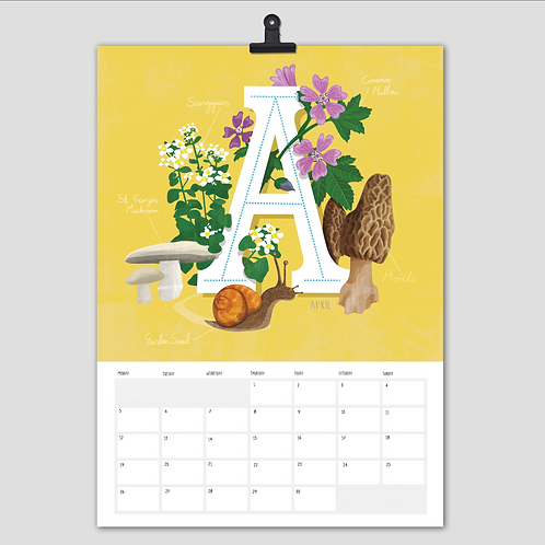 2021 Foraging calendar
