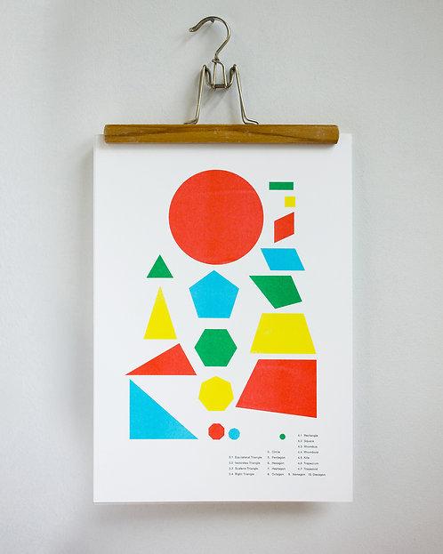 2D shapes print
