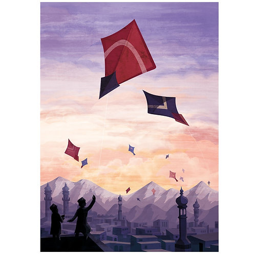 The Kite Runner A3 print