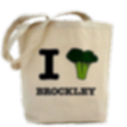 I Love Brockley tote bag
