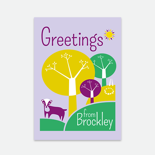 Brockley postcard