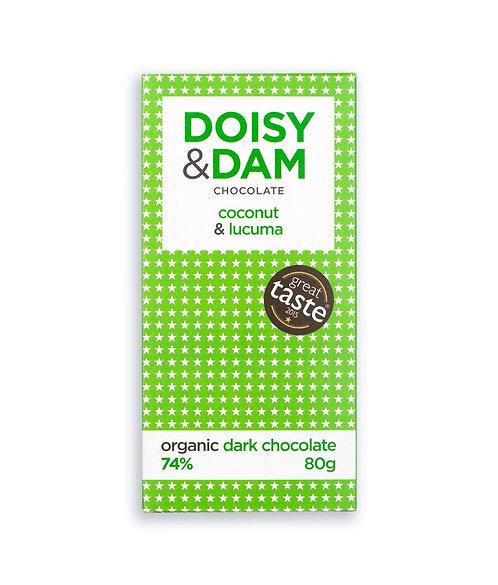 Doisy & Dam coconut and lucuma bar (80g)