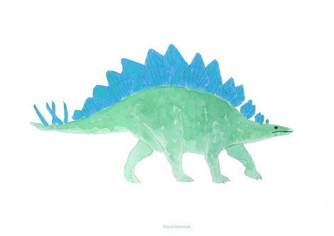 Dinosaur prints, various