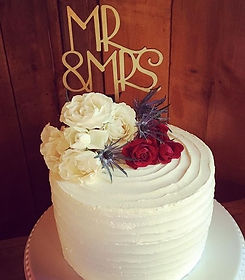 wedding cake, made without gluten cakes
