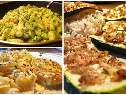 Kochen während dem Coronavirus: Ein Einkauf für drei 5-Zutaten-Gerichte