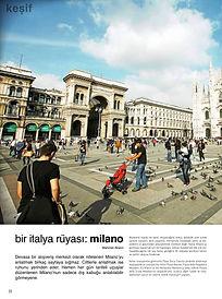 Mehmet Akalın, AVM işletme, Alışveriş merkezi kiralama, gezi notları, Milano
